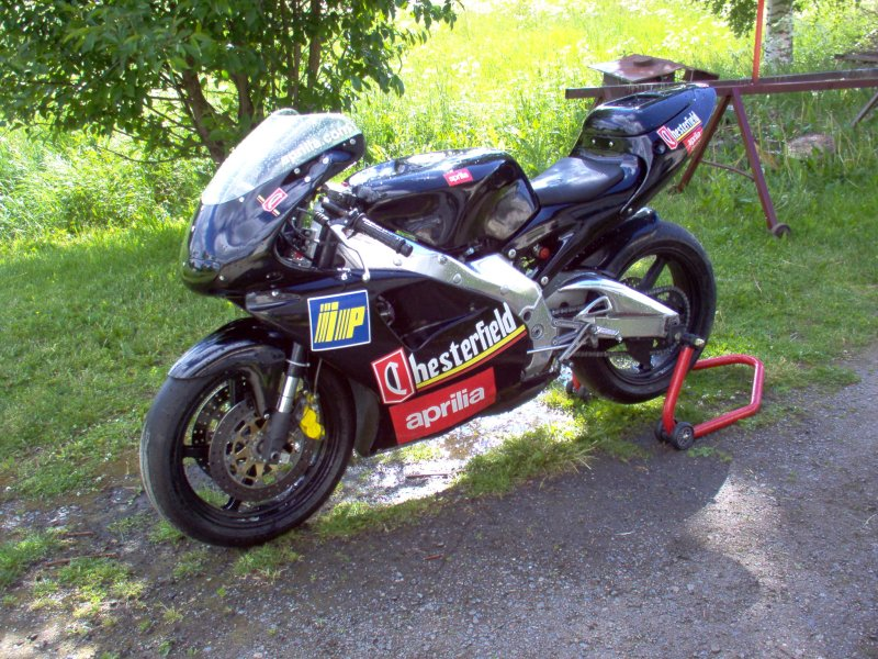 Aprilia 250. -based on Aprilia 250 gp-bike,